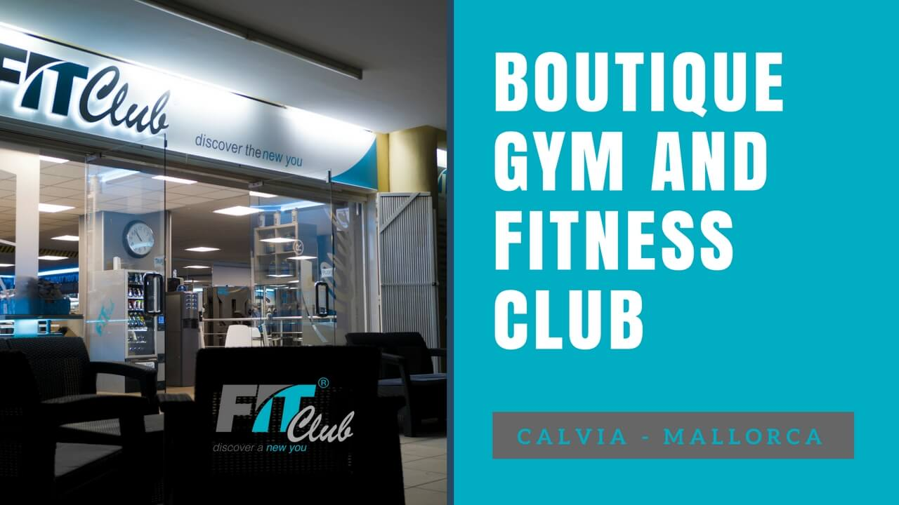 Boutique gym and fitness club Mallorca
