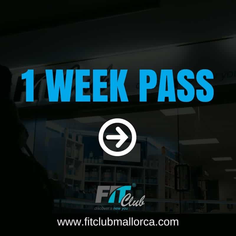 1 week gym pass