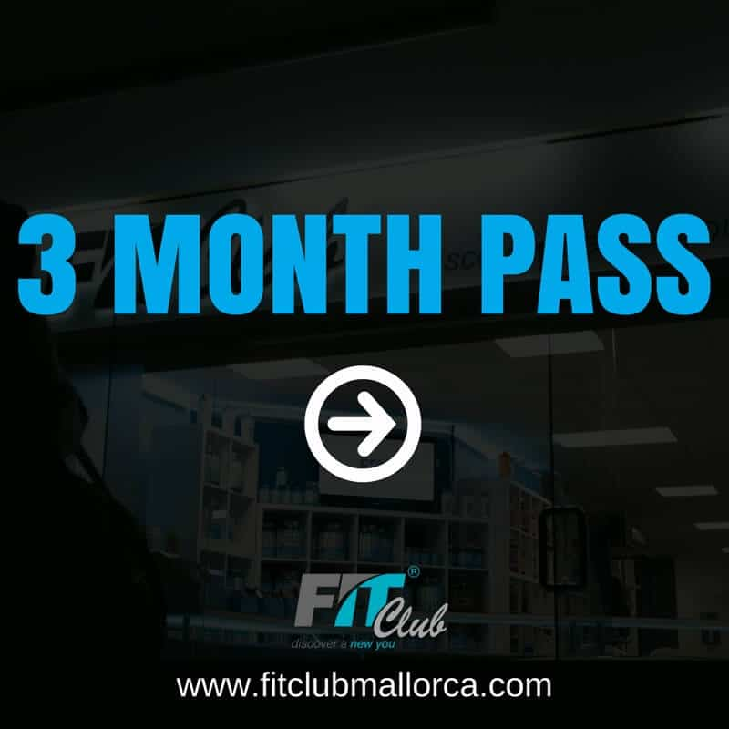 3 month gym pass