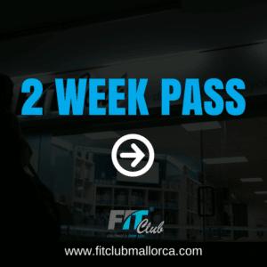 2 week gym pass