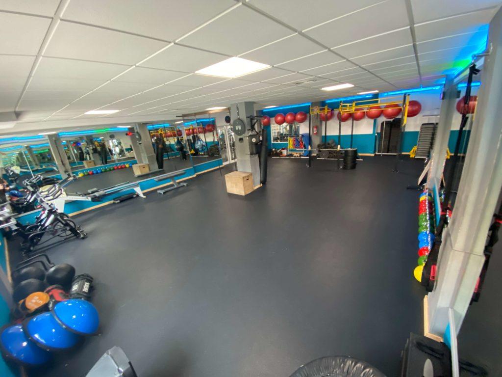 functional training room at Fit Club Mallorca Gym